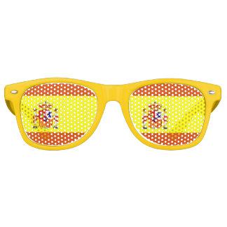 Gafas de sol españolas de la diversión de la