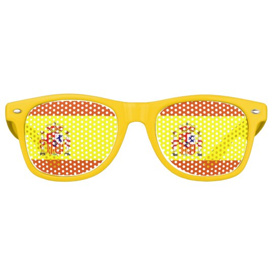 5c857afc69 Gafas de sol españolas de la diversión de la   Zazzle.es