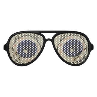 Gafas de sol grandes 2 de los ojos unisex