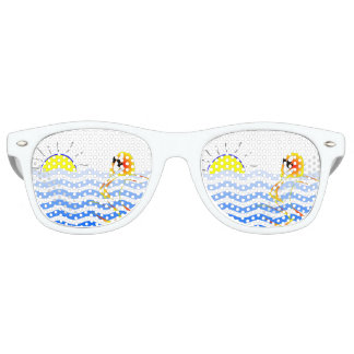 Gafas de sol ingeniosas de la playa