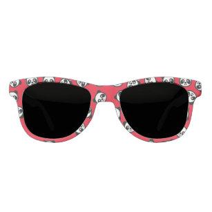 49916aff16 Gafas De Sol Modelo blanco y negro del dibujo animado de la