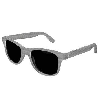 Gafas De Sol Modelo geométrico moderno de la casilla negra