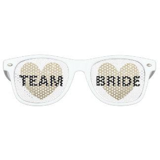 Gafas de sol - novia fabulosa del equipo del