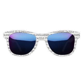 Gafas De Sol Plantilla en blanco personalizada personalizado de