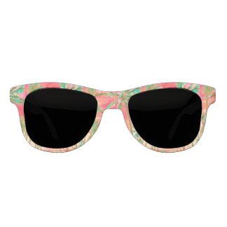 Gafas De Sol Playa/coral hawaianos del vintage de