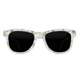 Gafas De Sol Playa hawaiana del vintage de PixDezines/cielo