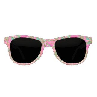Gafas De Sol Playa hawaiana/rosa del vintage de