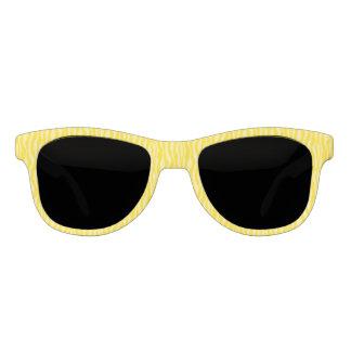 Gafas De Sol Rayas amarillas del modelo del estampado de zebra