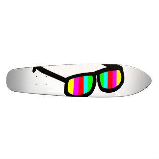 Gafas de sol retras Longboard Patín