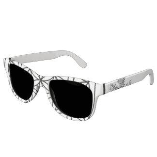 Gafas de sol sagradas del viajero de la geometría