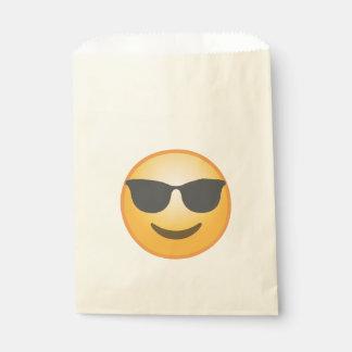 Gafas de sol sonrientes Emoji Bolsa De Papel