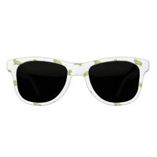 a2f085b4d0 Gafas De Sol Tortuga verde del dibujo animado con el modelo de