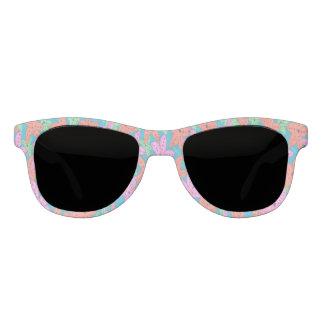 Gafas de sol tropicales de las estrellas de mar
