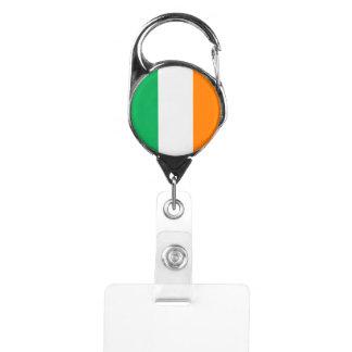 Gafete Bandera de Irlanda