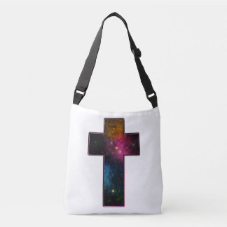 Galaxia cruzada cristiana de moda de los chicas bolsa cruzada