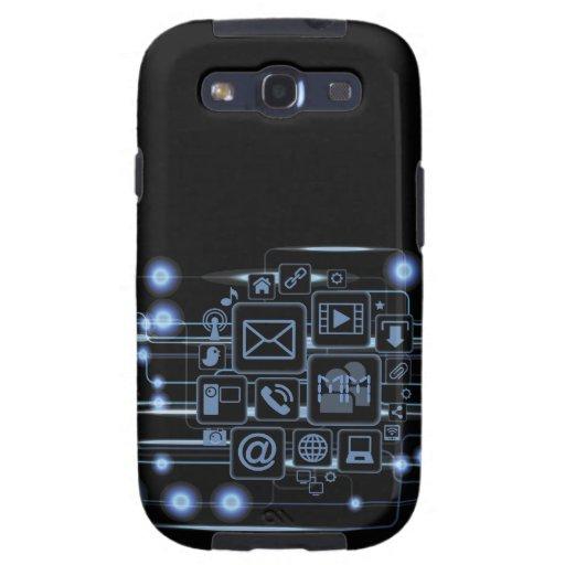 Galaxia de alta tecnología S3 de Samsung de las in Samsung Galaxy S3 Cobertura