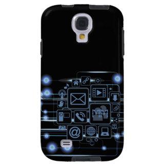Galaxia de alta tecnología S4 de Samsung de las Funda Para Galaxy S4