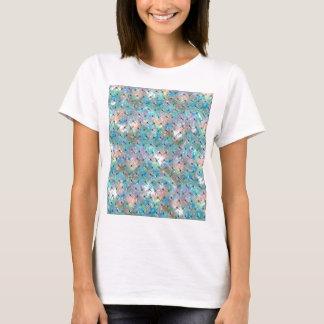 Galaxia de la libélula camiseta