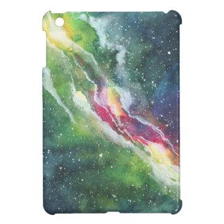 Galaxia de la nebulosa del espacio de la acuarela