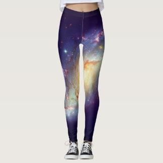 Galaxia de la vía láctea leggings