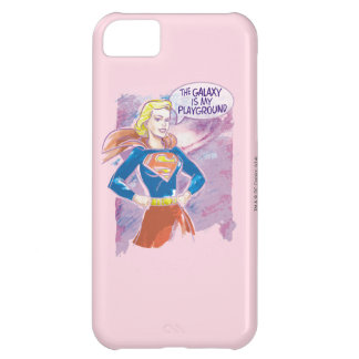 Galaxia de Supergirl Funda Para iPhone 5C