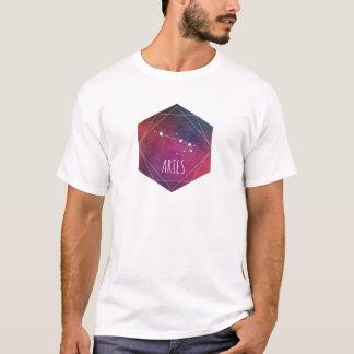 Galaxia del aries camiseta