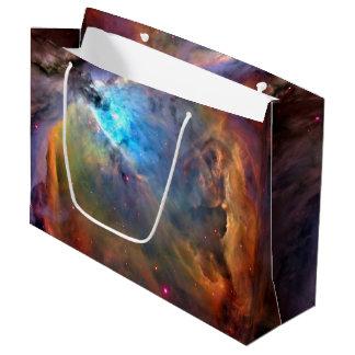 Galaxia del espacio de la nebulosa de Orión Bolsa De Regalo Grande
