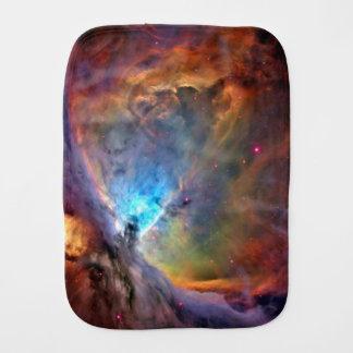 Galaxia del espacio de la nebulosa de Orión Paños De Bebé