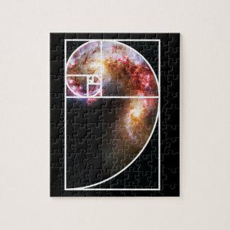 Galaxia espiral de Fibonacci Puzzle
