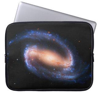 Galaxia espiral funda para portátil