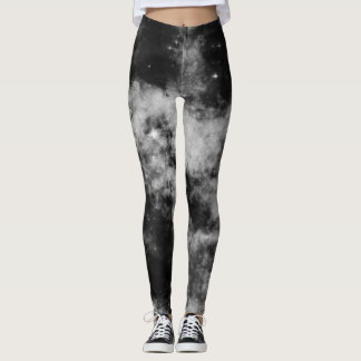 Galaxia negra leggings