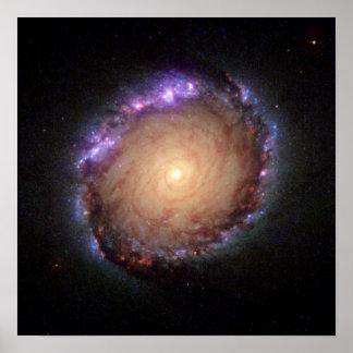 Galaxia NGC 1512 Póster