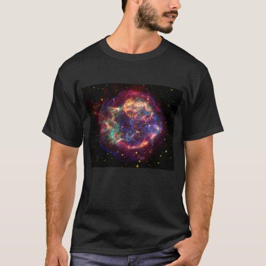 Galaxia oscura básica 4 de la camiseta de los