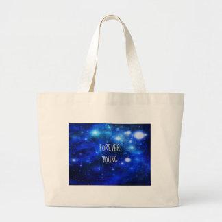 Galaxia para siempre joven del espacio bolsas