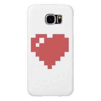 galaxia s6 de Samsung del corazón Funda Samsung Galaxy S6