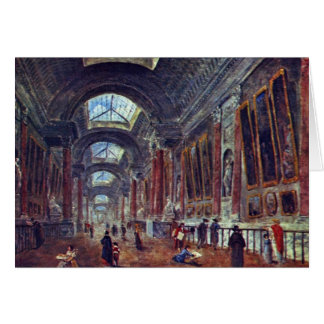 Galería de arte del detalle del Louvre de Roberto  Felicitacion