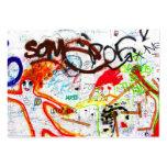 Galería de la zona este, muro de Berlín, pintada ( Tarjetas De Negocios