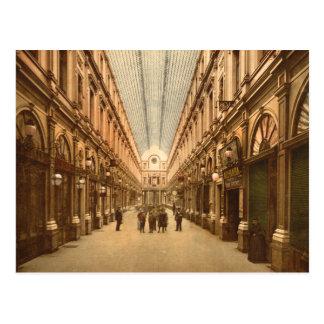 Galería del St. Huberto de Bruselas Bélgica del Postal