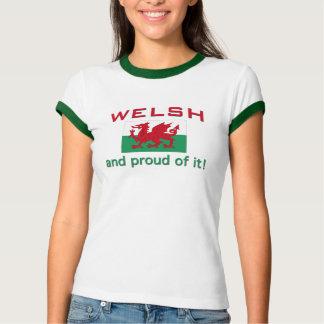Galés orgulloso camisas