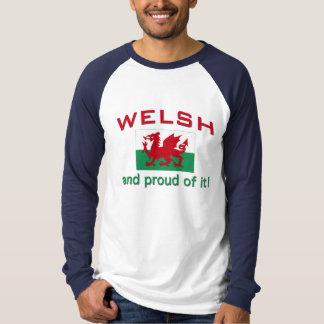 Galés orgulloso camisetas