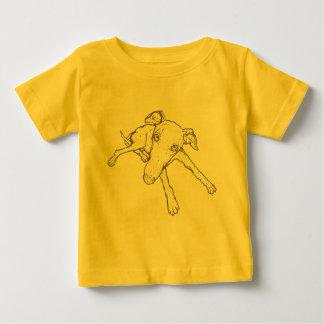Galgo Camiseta De Bebé