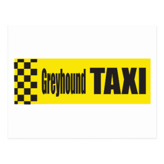 Galgo del taxi postal