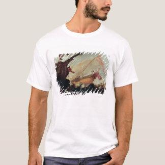 Galleons arruinó en una orilla rocosa camiseta