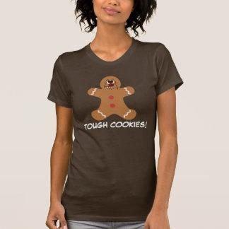 Galleta asustadiza del hombre de pan de jengibre camisas