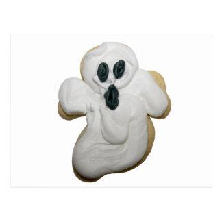 Galleta del fantasma de Halloween Postales