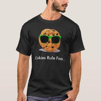 Galleta, regla Foo de las galletas… Camiseta