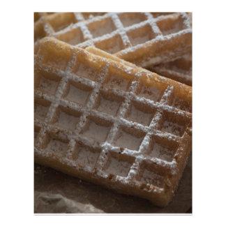 Galletas asperjadas azúcar de Bruselas Folleto 21,6 X 28 Cm