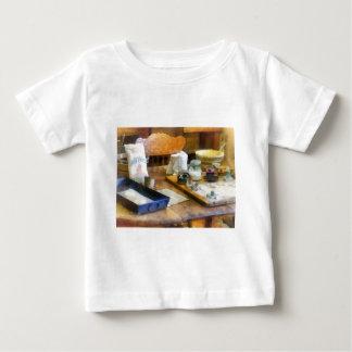Galletas de la hornada camiseta de bebé