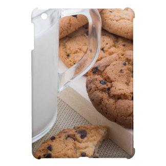Galletas de la leche y de harina de avena con el