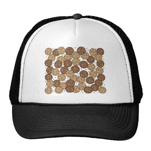 Galletas de microprocesador de chocolate gorra